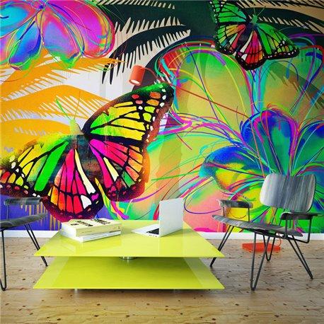 Fotomural Mariposas En El Estómago Ii