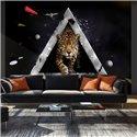 Fotomural Leopardo, Visión Abstracta