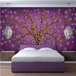 Fotomural Árbol Deco (violeta)