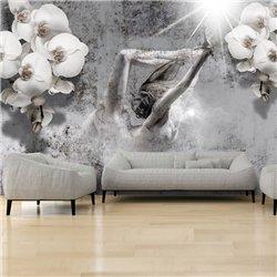 Fotomural Ballet con Orquídeas