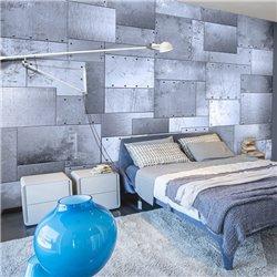 Fotomural Mosaico Estilo Industrial