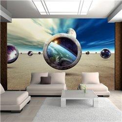 Fotomural Planetas y Surrealismo