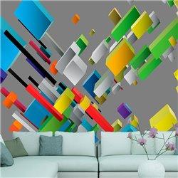 Fotomural Tetris Decorativo