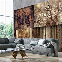Fotomural Textura Industrial, Óxido