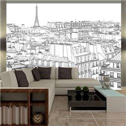 Fotomural Dibujos Parisinos