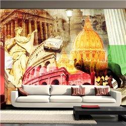 Fotomural Monumentos de Roma, Collage