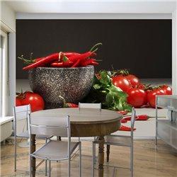 Fotomural Receta de Verduras