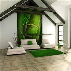 Fotomural Bambú (detalle)