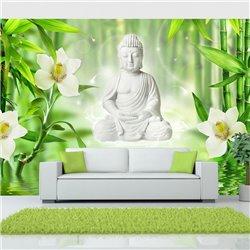 Fotomural Buda y Naturaleza Zen