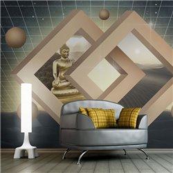 Fotomural Budísmo en 3D
