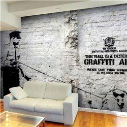 Fotomural Banksy - Graffiti Area