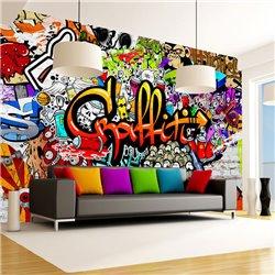 Fotomural Colorful Graffiti