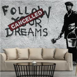 Fotomural Dreams Cancelled (Banksy)
