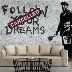 Fotomural Dreams Cancelled (Banksy)