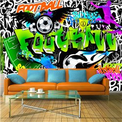 Fotomural Football Graffiti