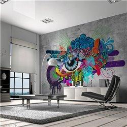 Fotomural Graffiti Eye