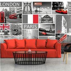 Fotomural London, Paris, Berlin, New York