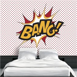 Fotomural Pop Arp Bang!
