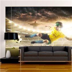 Fotomural Fútbol Brasileño