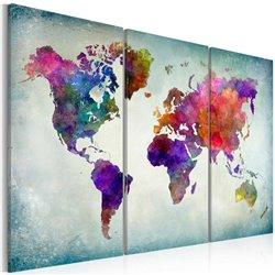 Cuadro Mundo de colores