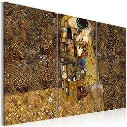 Cuadro Klimt inspiraciones - Beso