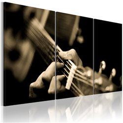 Cuadro Sonido mágico de una guitarra