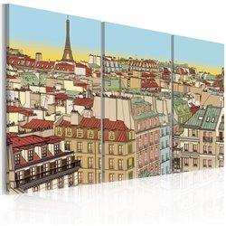 Cuadro La dulzura de vivir en el París