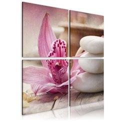 Cuadro Orquídea y zen