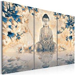 Cuadro Ritual budista