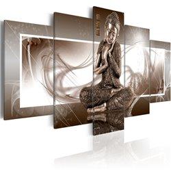 Cuadro Buda en reflexión