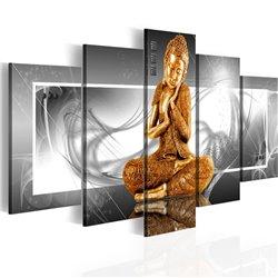 Cuadro Oración budista