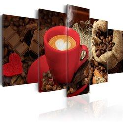 Cuadro Love espresso