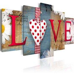 Cuadro LOVE - handmade