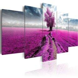 Cuadro Purple Land
