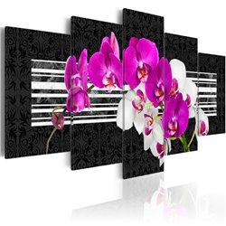 Cuadro Orquídeas modestas