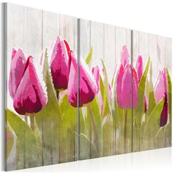 Cuadro Ramo primaveral de tulipanes