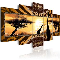 Cuadro African giraffes