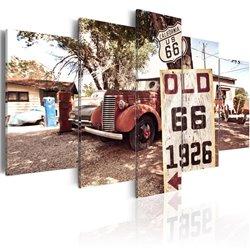 Cuadro California - vintage style