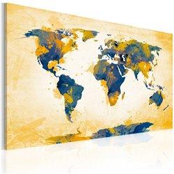 Cuadro Four corners of the World