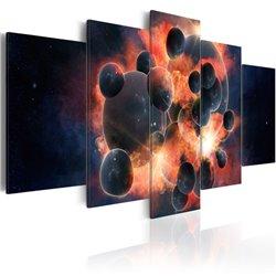Cuadro Teoría de la creación del universo