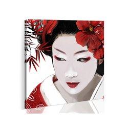 Cuadro Geisha japonesa