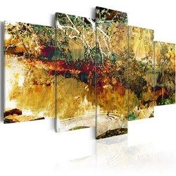 Cuadro jardín: abstracto