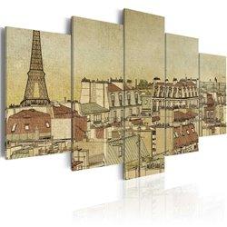 Cuadro París de siglos precedentes