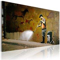 Cuadro Blanqueo Lascaux (Banksy)
