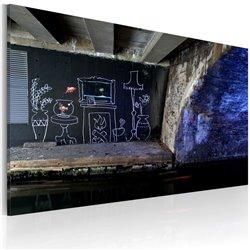 Cuadro Mi propio pedazo de suelo (Banksy)
