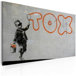 Cuadro Papel graffiti (Banksy)