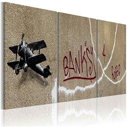 Cuadro Avión (Banksy)