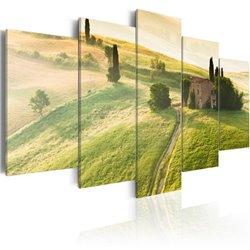 Cuadro Toscana verde