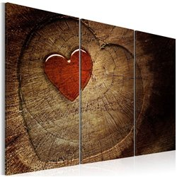 Cuadro Viejo amor no se oxida - 3 piezas