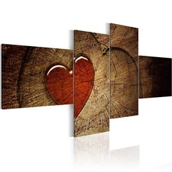 Cuadro Viejo amor no se oxida - 4 piezas